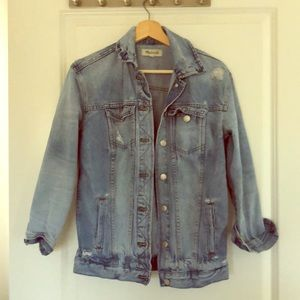 MADEWELL Oversized Jean Jacket- XXS